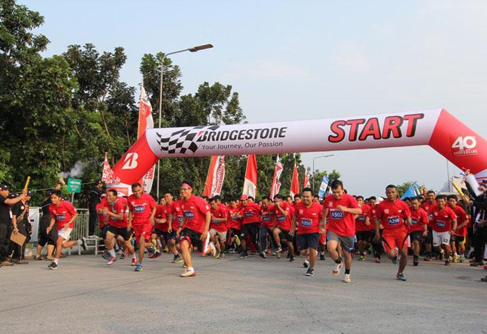 Meriahnya Perayaan 40 Tahun Bridgestone Tire Indonesia