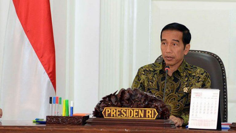 Presiden Jokowi: Tindak Tegas Pengungah Berita Bohong di Media Sosial