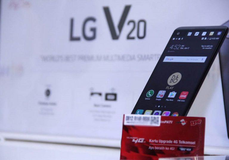Tertarik Beli LG V20? Telkomsel Tawarkan Paket Bundling
