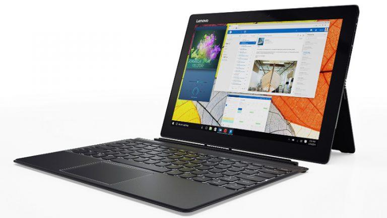 Wajah Miix 720 Seutuhnya Diperkenalkan Lenovo di CES 2017