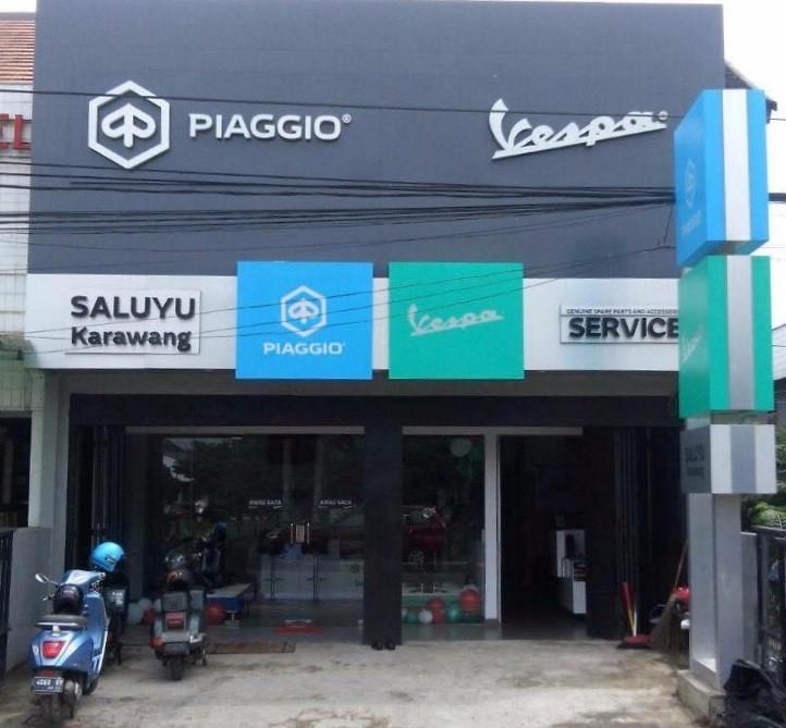 Piaggio Indonesia Buka Dealer Baru di Karawang