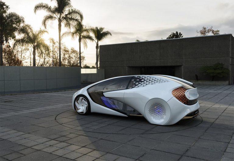 Toyota Perkenalkan Concept-i untuk Model Mobil Otonom