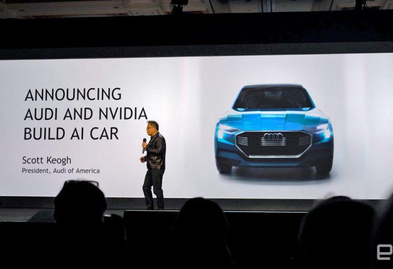 Melalui AI, NVIDIA Dukung Audi untuk Pengembangan Mobil Otonom