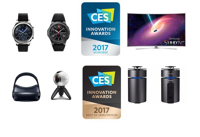 Samsung Dapatkan 35 Penghargaan Inovasi di CES 2017 untuk Berbagai Kategori