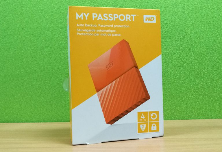 Review WD My Passport 4 TB
