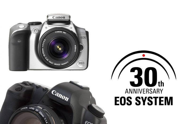 Tahun 2017 Ini Canon Rayakan 30 Tahun EOS System