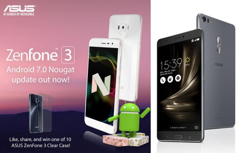 Update Android 7.0 Nougat Mulai Sambangi Beberapa Seri ZenFone 3