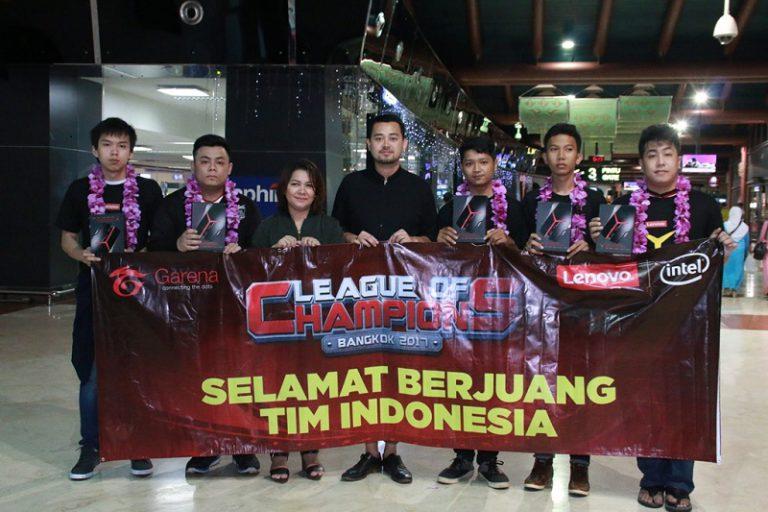 """Lenovo Berangkatkan Tim Indonesia yang Bertarung di Final """"Lenovo Intel League of Champions"""""""
