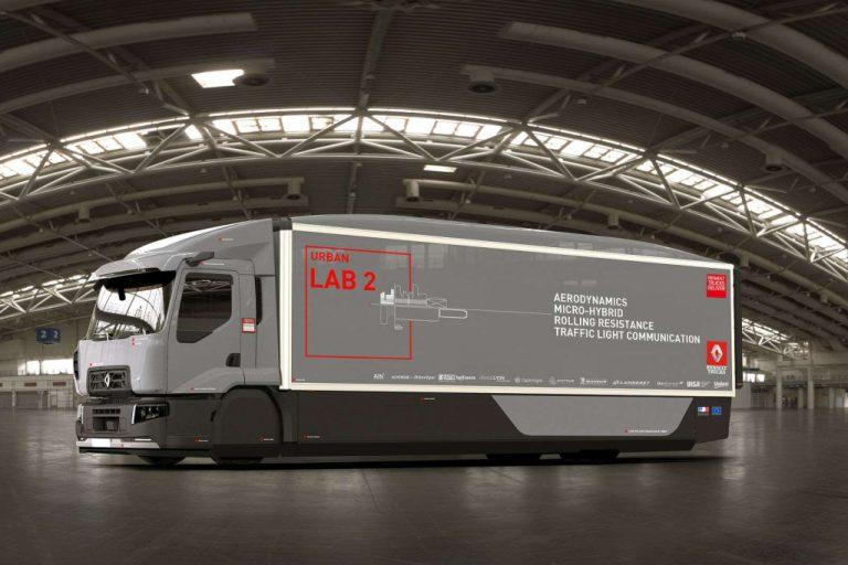 Dengan Konsep Truk Urban Lab 2, Renault Ingin Tekan Biaya Distribusi