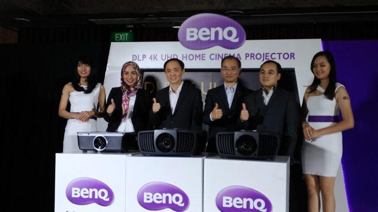 BenQ Hadirkan Proyektor 4K untuk Para Penikmat Home Theater