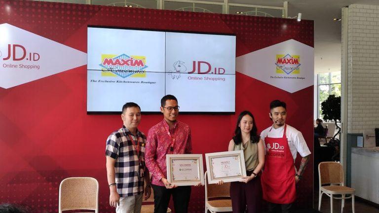 Tingkatkan Pengalaman Berbelanja Online, JD.ID Jalin Kerjasama Eksklusif dengan Maxim