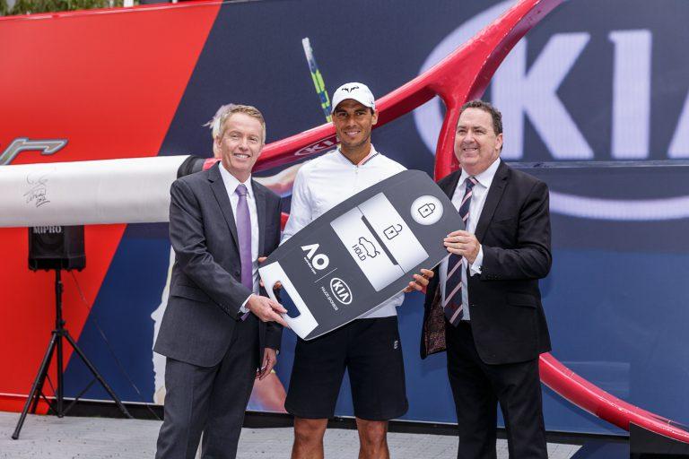 Wow, 110 Mobil KIA Dukung Kesuksesan Australia Open 2017