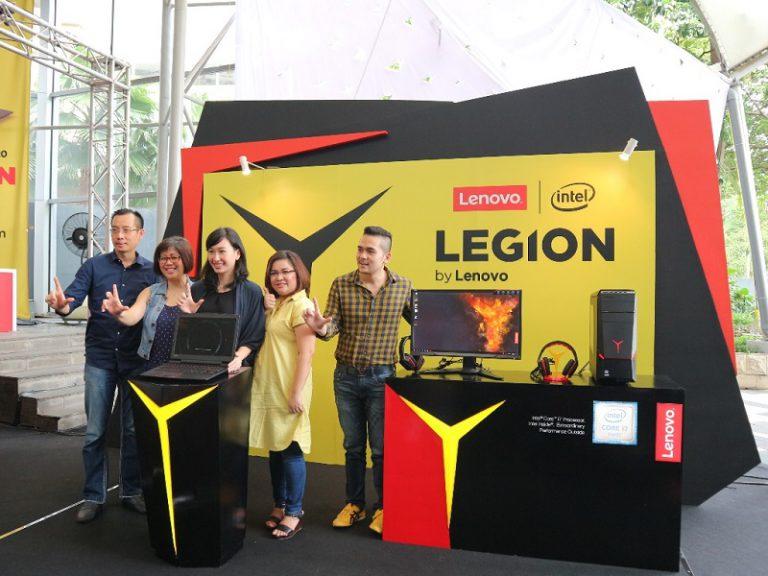 Tiga Amunisi Legion dari Lenovo Siap Guncang Pasar Game di Tanah Air