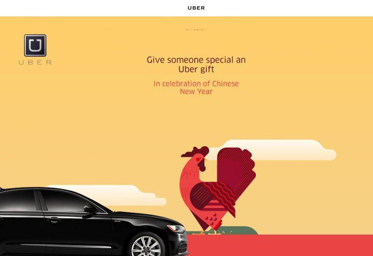 Jelang Perayaan Imlek, Uber Bagi-bagi Angpao