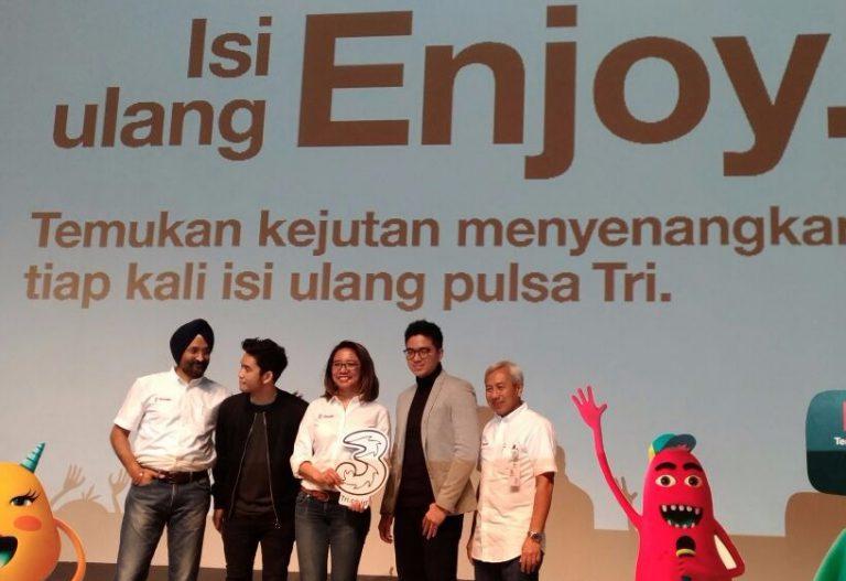 Isi Ulang Enjoy, Program Khusus dari Tri untuk Berikan Bonus Ekstra ke Pelanggan