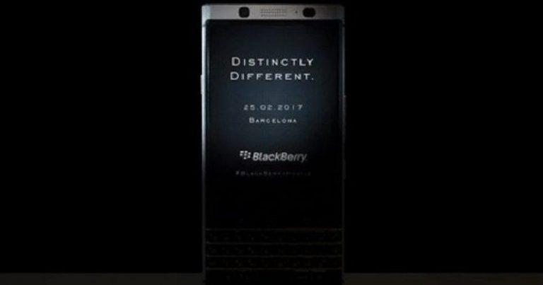 Dua Hari Sebelum MWC 2017 Digelar, BlackBerry Akan Ungkap Mercury