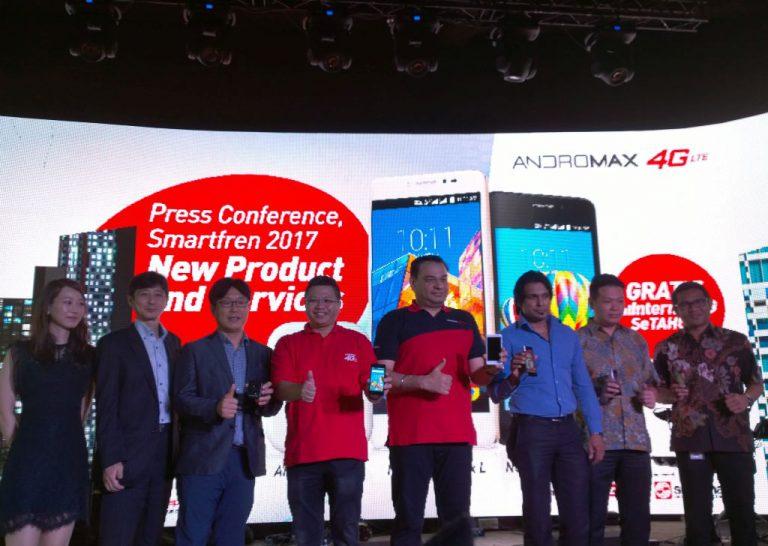 Awal Tahun, Smartfren Sodorkan Tiga Produk Andromax dan Satu Paket Promo Baru. Apa Saja?