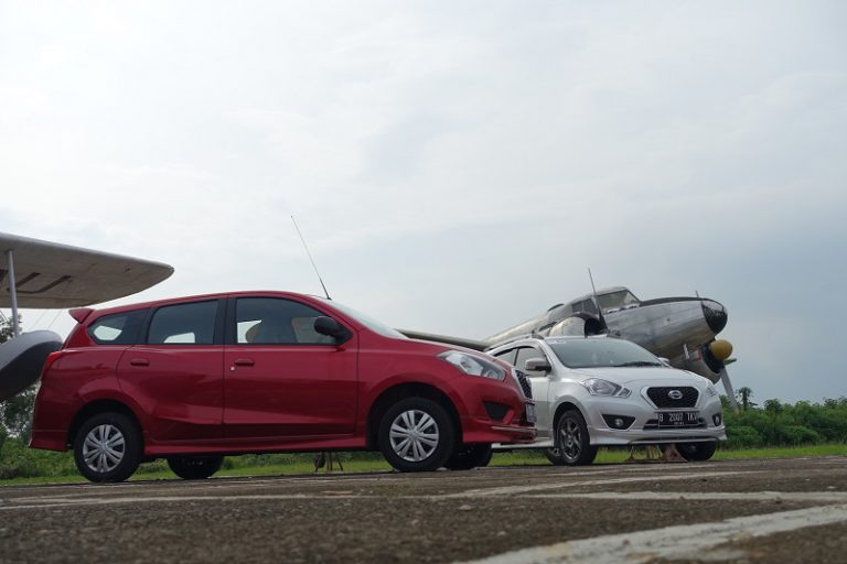 Uji Performa GO Panca dan GO+ Panca Kembali Dipamerkan Datsun
