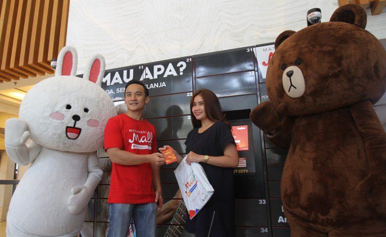 Meriahkan Imlek, MatahariMall.com dan LINE Sukses Sebar Angpao Hingga Rp 3 Miliar