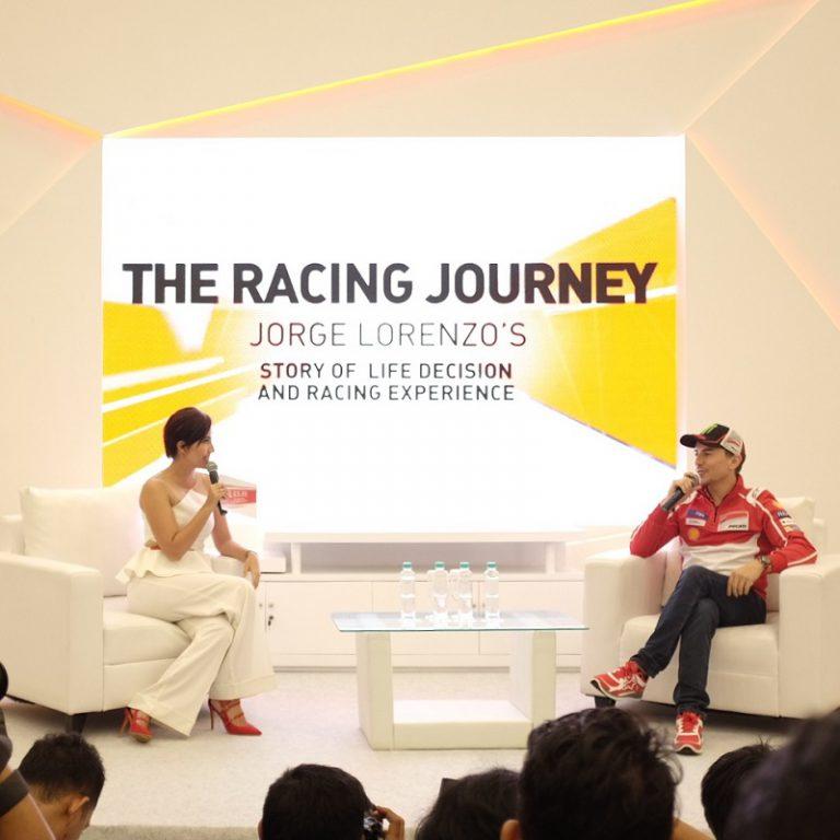 Ke Indonesia, Jorge Lorenzo Beberkan Karirnya Dihadapan Pecinta Ducati Tanah Air