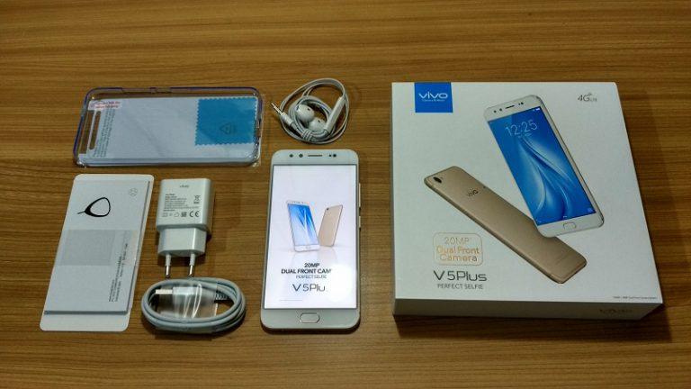 Beli Vivo V5 Plus, Ini Isi Boks Penjualannya