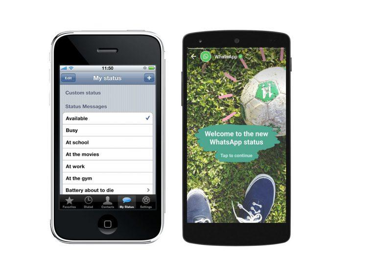 Status Update Dalam Bentuk Teks di Whatsapp Akan Dikembalikan Lagi?