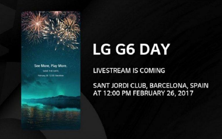 Mau Tahu Lebih Detail LG G6? Pantau Siaran Langsungnya di Sini