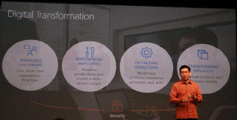 Microsoft: Tranformasi Digital Bagi Perusahaan Sebuah Keharusan