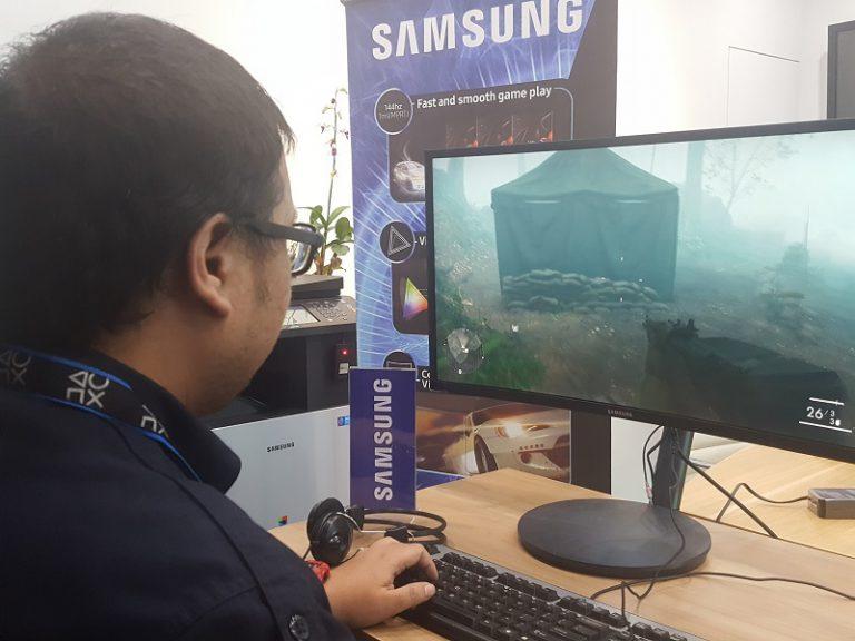 Samsung Perkenalkan CFG70, Monitor Melengkung Pertamanya untuk Gamer Profesional