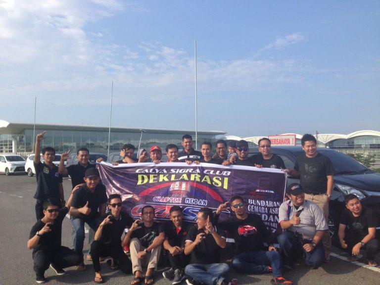 Serunya Peresmian Calya Sigra Club Chapter Medan