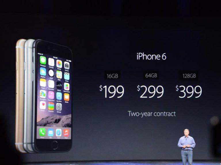 Apple Akhirnya Juga Tawarkan iPhone 6 Model 32 GB