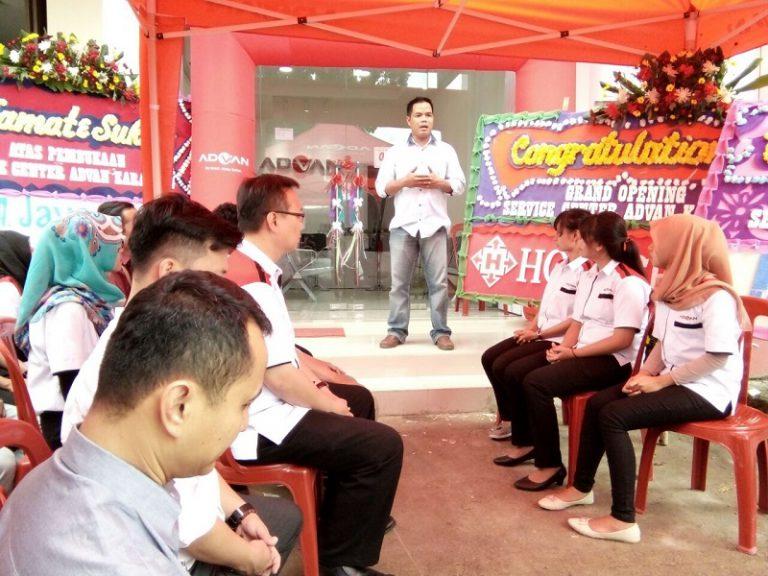 Advan Buka Service Center Ke-57 di Karawang
