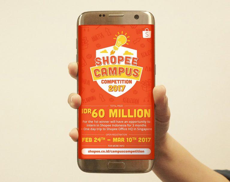 Yuk Ikutan! Shopee Campus Competition Kembali Digelar