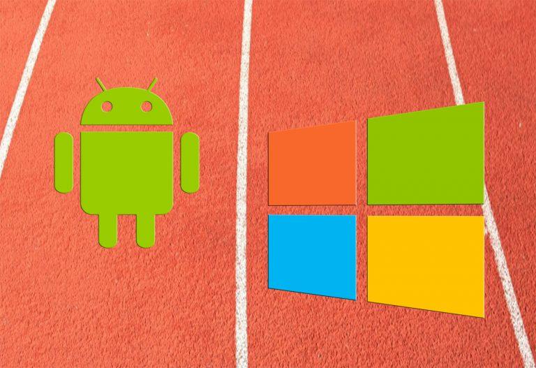 Sedikit Lagi, Android Menyusul Windows Untuk Penggunaan Internet