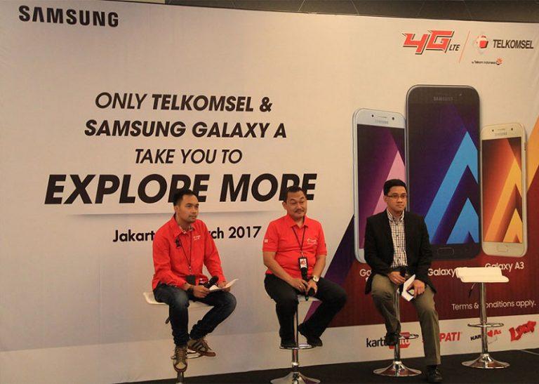 Samsung & Telkomsel Jual Paket Galaxy A (2017) Diperkaya dengan Layanan Digital