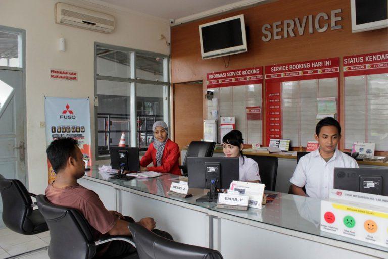Mitsubishi Resmikan Mitsubishi Fuso Truck Center di Bekasi
