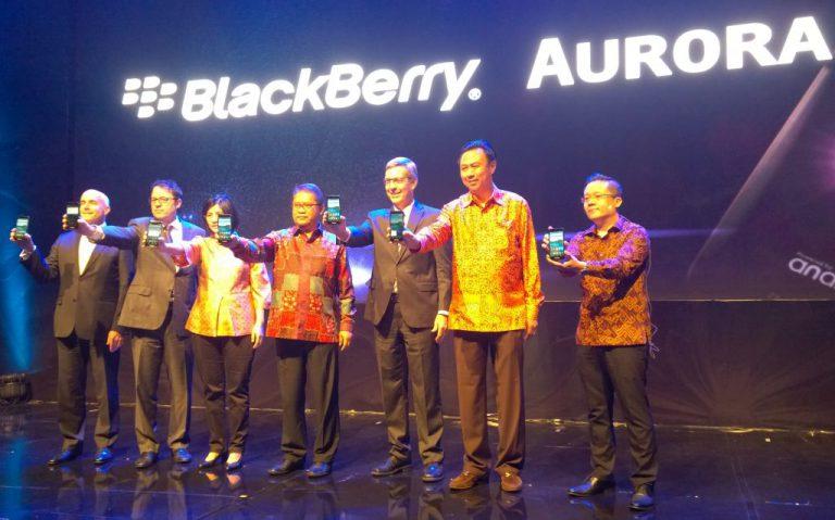 Harga Rp 3,5 Juta, BlackBerry Aurora 'Made in Indonesia' Resmi Dijual di Indonesia