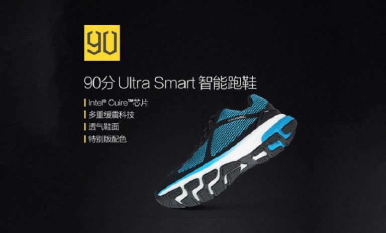 """90 Minutes Ultra Smart Sportswear"", Sepatu Cerdas Racikan Xiaomi"
