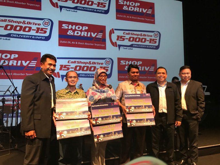 Shop&Drive Umumkan Pemenang Undian Semarak dan Blog Competition GS Astra Delivery