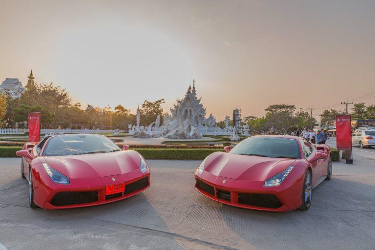 Asyiknya Menjajal Ferrari 488 GTB dan 488 Spider Spider diChiang Rai Thailand