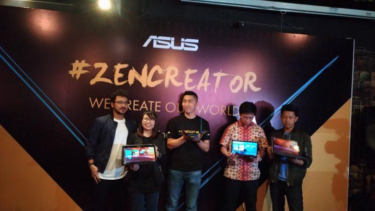 Asus Ajak Pengguna Zenbook Berkumpul dalam Zencreator