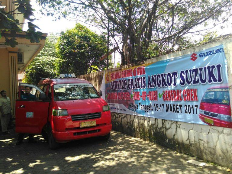 Pemilik Angkot KWK, Jangan Lewatkan Servis Gratis dari Suzuki ini