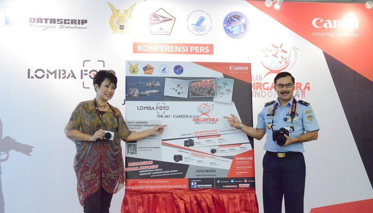 Canon dan TNI AU Gelar Lomba Foto Kedirgantaraan