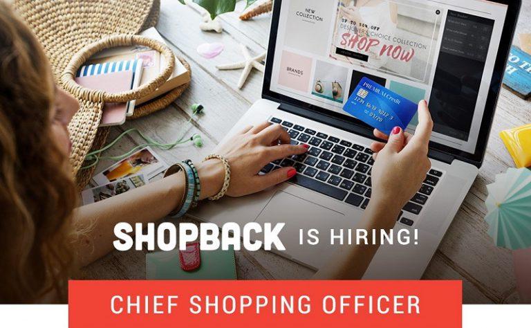 "ShopBack Cari ""Chief Shopping Office"", Dikasih Uang Belanja Rp 30 Juta"