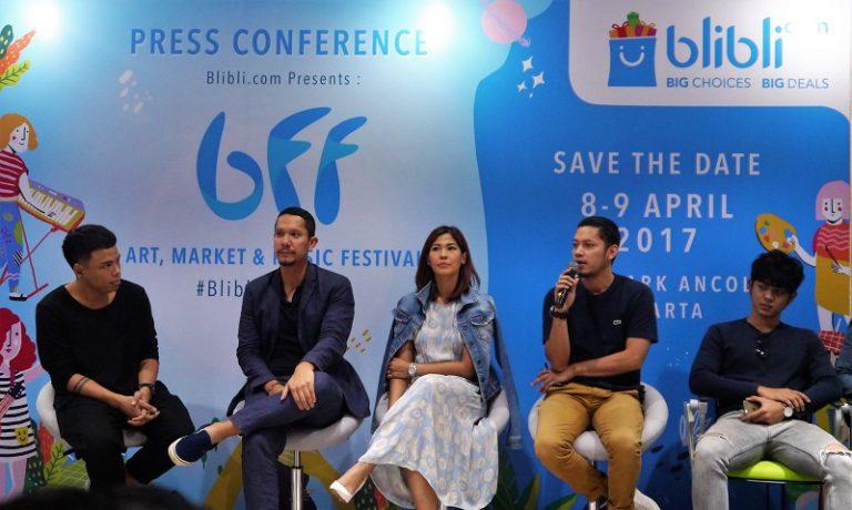 14 Musisi Papan Atas Tanah Air Siap Guncang Festival Racikan Blibli.com