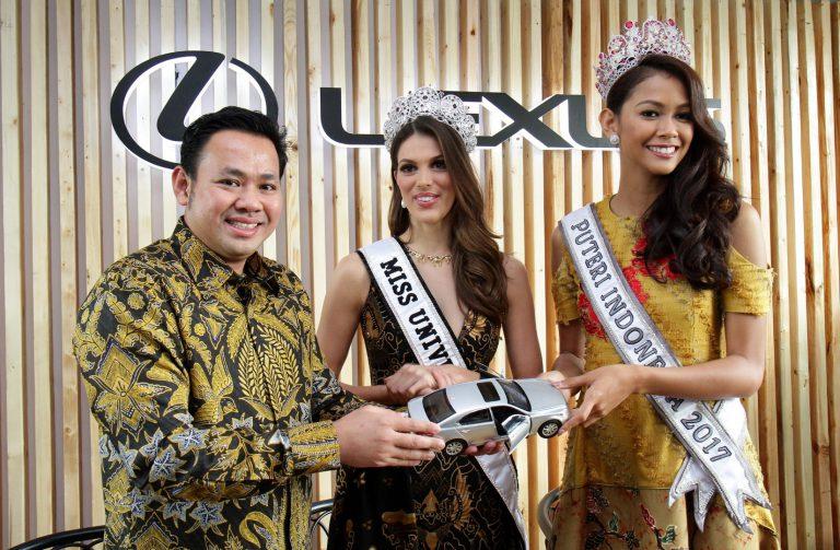 Lexus Indonesia Datangkan Miss Universe 2016 Untuk Menyapa Pelanggan