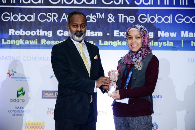 Samsung Raih Penghargaan 'Silver' di Global CSR Summit and Awards 2017