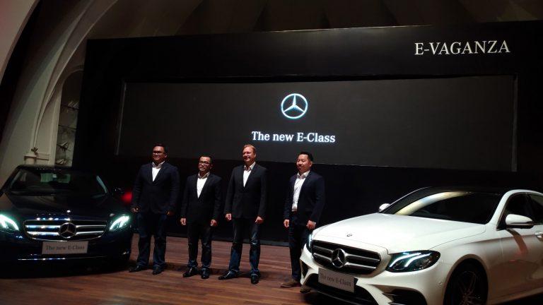 Mercedes-Benz Luncurkan E-Class Baru, Dirakit di Indonesia
