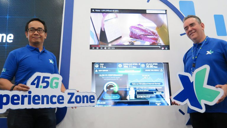 XL Axiata Bangun 4.5G Xperience Zone di 20 lokasi XPLOR dan XL Center