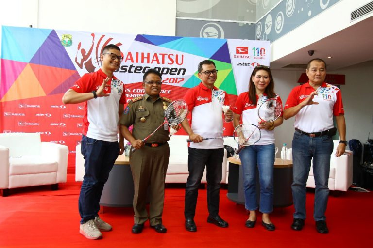 Daihatsu Mencari Bibit Unggul Pebulutangkis melalui Daihatsu ASTEC Open 2017